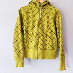 Lululemon Limited Edition Lime Scuba Sweater